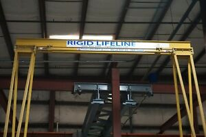 Rigid Lifeline Fall Arrest Gantry Crane