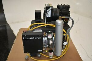 Midmark Cl21 Dental Air Compressor System For Operatory Pressure Great Used