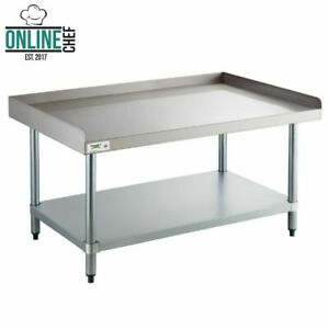 30 X 48 16 gauge Stainless Steel Work Prep Table Commercial Equipment Stand