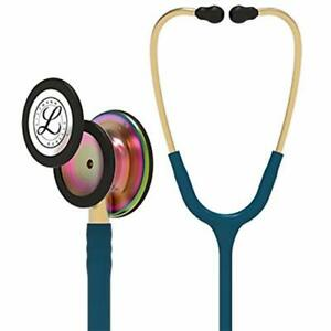 Littmann Classic Iii Monitoring Stethoscope Rainbow finish Caribbean Blue