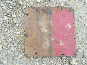 International 656 High Rc Utility Tractor Ihc Ih Square Cover Panel