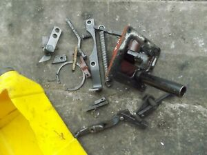 Farmall 656 Utility High Rc Tractor Ih Rockshaft Hyd Box Inner Parts Linkage Pie