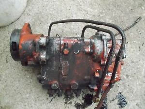 Case 830 Diesel Rowcrop Tractor Good Engine Motor Injection Pump W Lines