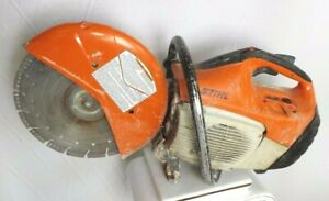 Stihl Ts 420 Cutquik 14 Gas Powered Cut off Saw With One Blade 114108 1 aoo