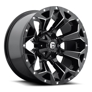 5 20x10 Fuel D576 Assault 35 At Wheel And Tire Package Jeep Wrangler Jk Jl Tpm