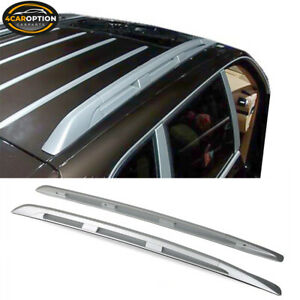 Fits 03 10 Porsche Cayenne Factory Style Roof Rack Rail Luggage Carrier Aluminum