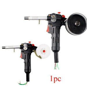 Portable Dc 24v Toothed Mig Spool Gun Wire Feed Aluminum Welder Torch