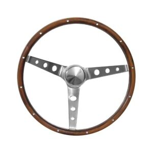 Grant Steering Wheel Nostalgia Walnut With Out Logo 15 1965 1989 Mustang
