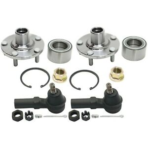 Wheel Hub Kit For 2000 2008 Nissan Maxima Front Left And Right Fwd 4pc