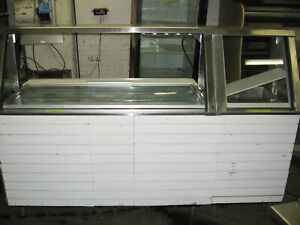 60 5 Ft Wide Refrigerated Sandwich Prep Table Station Subway 1 Well Hot Box