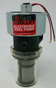 New Facet 40237 Dura Lift Fuel Pump 24v 9 0 11 5 Psi 33gph