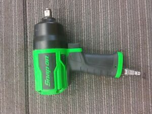 Snap on Pt850g Air Impact Driver 1 2 Inch Green