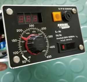 Thermonic Arburg Temperature Controller Sn 046531 ff 10 G250 500 Injection Mold