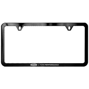 Ford Performance Mustang Stainless Steel Slim License Plate Frame M 1828 Ssb