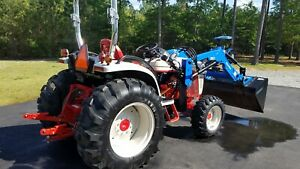 New Holland Boomer Tractor 50hp Loader And Forks 230hrs free Delivery