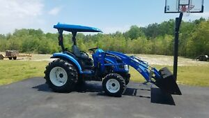 New Holland Tc35 Tractor 4x4 Hydrostatic 202hrs free Delivery