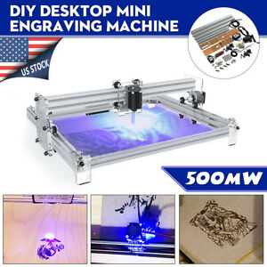 40x50cm 500mw Diy Laser Engraving Machine Cnc Desktop Wood Logo Cutter Engraver