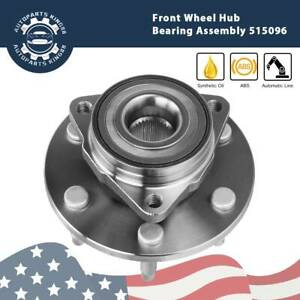Set Of 2 Front Wheel Hub Bearing Assembly For Chevy Pontiac W Abs 513121