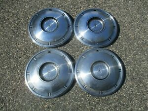 1967 Oldsmobile Olds Factory 14 Inch Hubcaps Wheel Covers