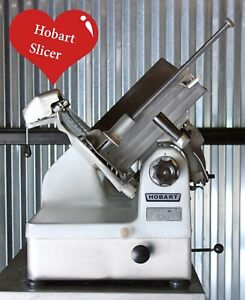 Hobart 1912 Semi automatic Commercial Deli Meat Slicer Grocery Meat Cheese Nice