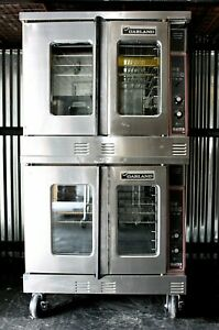 Garland Master 200 Double Stack Deck Gas Convection Ovens Mco es 10g School