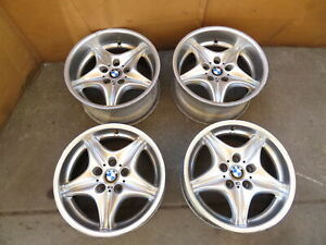 98 02 Bmw Z3 M Roadster E36 1077 Oem Roadstar Style 40 Staggered Wheels