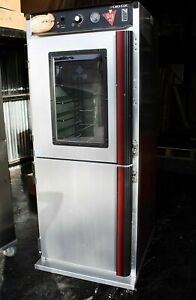 Cres Cor H 137 W Window Mobile Heated Cabinet School Pizza Holding Proofer