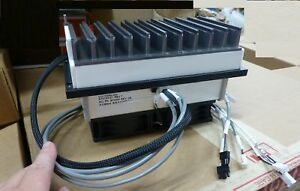 Large Marlow Thermoelectric Peltier Cooler W heatsink And 2 Fans 24vdc 5w