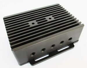 Custom Cnc Black Aluminum Enclosure Box 5 X 7 X 2 1 8 Or 2 3 8 With Base