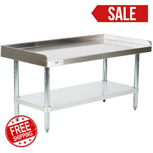 24 X 48 Stainless Steel Table Commercial Mixer Grill Heavy Equipment Stand Nsf