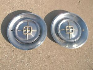 1960 Lincoln Continental Mark V Hubcaps Wheel Covers