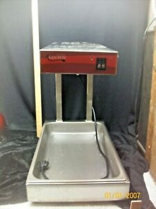 Infrared Food Pan Warmer Fry Dump Station Heat Lamp Stand Avantco