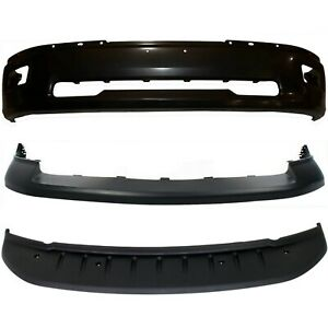 New Bumper Cover Facial Kit Front For Ram Truck Dodge 1500 2009 2010