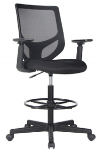 Smugdesk Drafting Chair Tall Office Chair For Standing Desk Drafting Mesh Table
