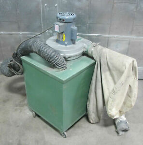 Kei Model 2105 1 Cabinet Dust Collector 1 2 Hp Baldor Motor 1 Phase Made In Usa