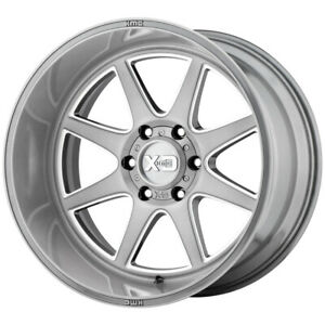 4 xd Series Xd844 Pike 22x10 6x135 18mm Brushed milled Wheels Rims 22 Inch