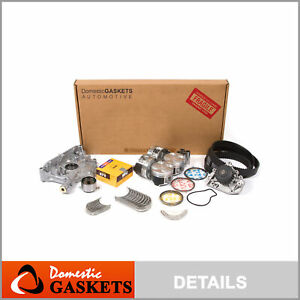 Engine Rebuild Kit Fits 97 01 Acura Integra Type R Vtec 1 8l B18c5