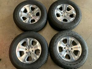 2018 Chevy Silverado Tahoe Factory 18 Wheels Tires Rims Oem 5647 Suburban 1500