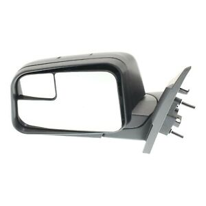 Power Mirror For 2009 2011 Ford Edge Left Side Manual Fold Textured Black