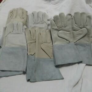 Tig Welding Gloves Size Large Lot Of 5 Pair New Unused