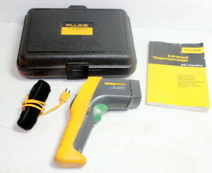 Fluke 561 Hvac Pro Infrared And Contact Thermometer Case Probe