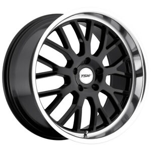 Staggered Tsw Tremblant Front 19x8 Rear 19x9 5 5x120 Gloss Black Wheels Rims