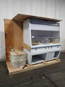 Air Control 4f 55 Fume Hood W Wet Bench 26 X 77 Table 04191190001