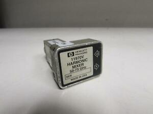 Hp 11970v Waveguide Harmonic Mixer 50 Ghz To 75 Ghz