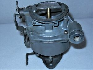 Rochester 1 barrel Type B Carb 1963 1967 Chevy Gmc Truck Remanufactured