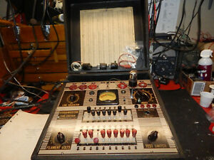 Vintage Ge Model Tc 3 Tube Tester