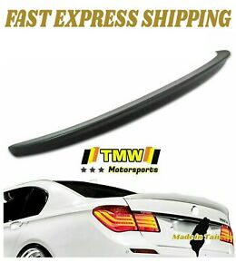 Unpaint Trunk Spoiler Wing Fit For Bmw F01 F02 7 Series 730 740 750 760 09 15