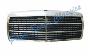 New Chrome Grille Assembly For Mercedes Benz W201 190e 2 3 16 Cosworth