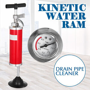 General Pipe Cleaners Kinetic Water Ram 4 Rubber Cone High Pressure