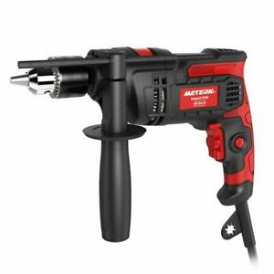 Electric Hammer Drill 7 0 Amp 1 2 Inch Corded Drill 850w 3000rpm Dual Switch